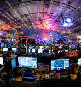 Manifestation des jeux dans le monde